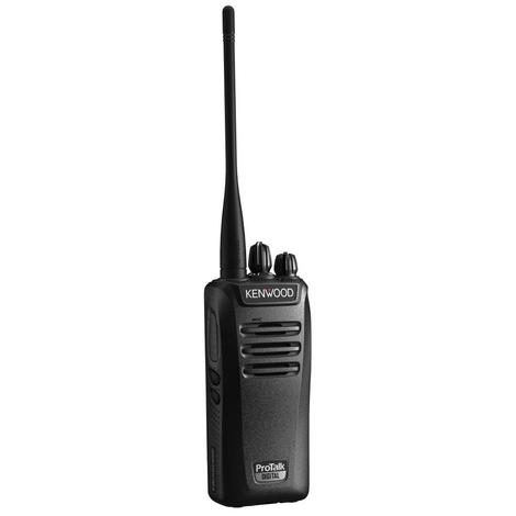Kenwood Pro Talk Radio, 5W, Dual Mode, Vhf, 16x2 Ch, Black