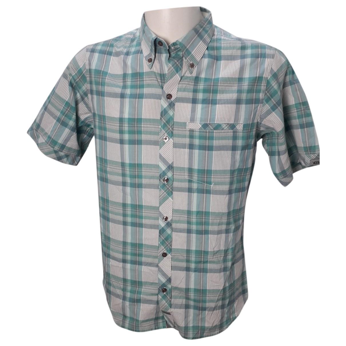 Vans - Chemises   pour homme en coton - vert