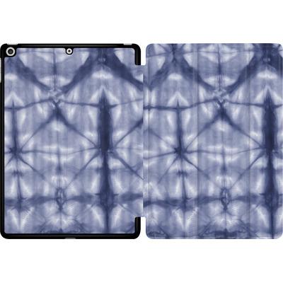 Apple iPad 9.7 (2017) Tablet Smart Case - Tie Dye 2 Navy von Amy Sia