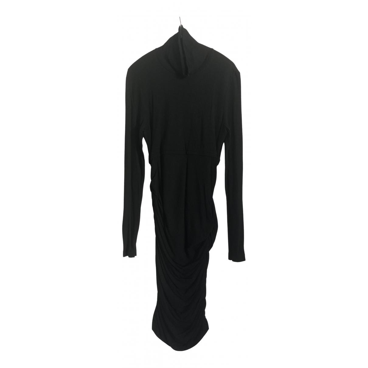 Strenesse - Robe   pour femme en laine - noir