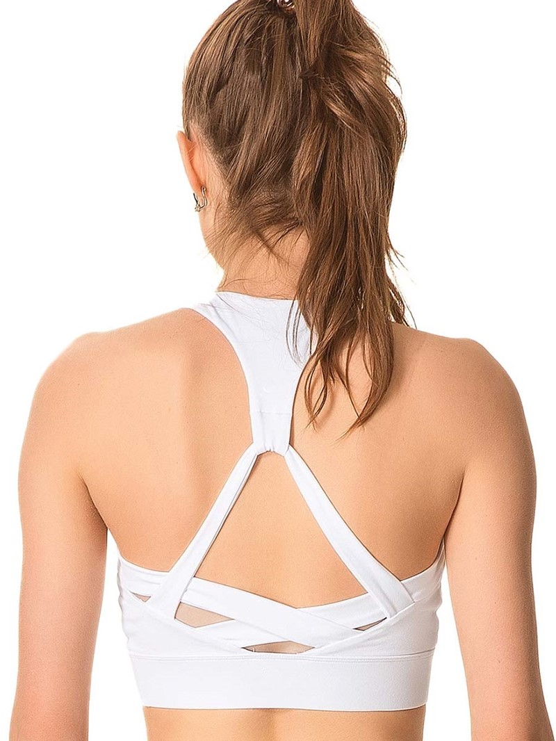 Ericdress Absorbent Non-Adjusted Straps Plain Free Wire Sports Bras