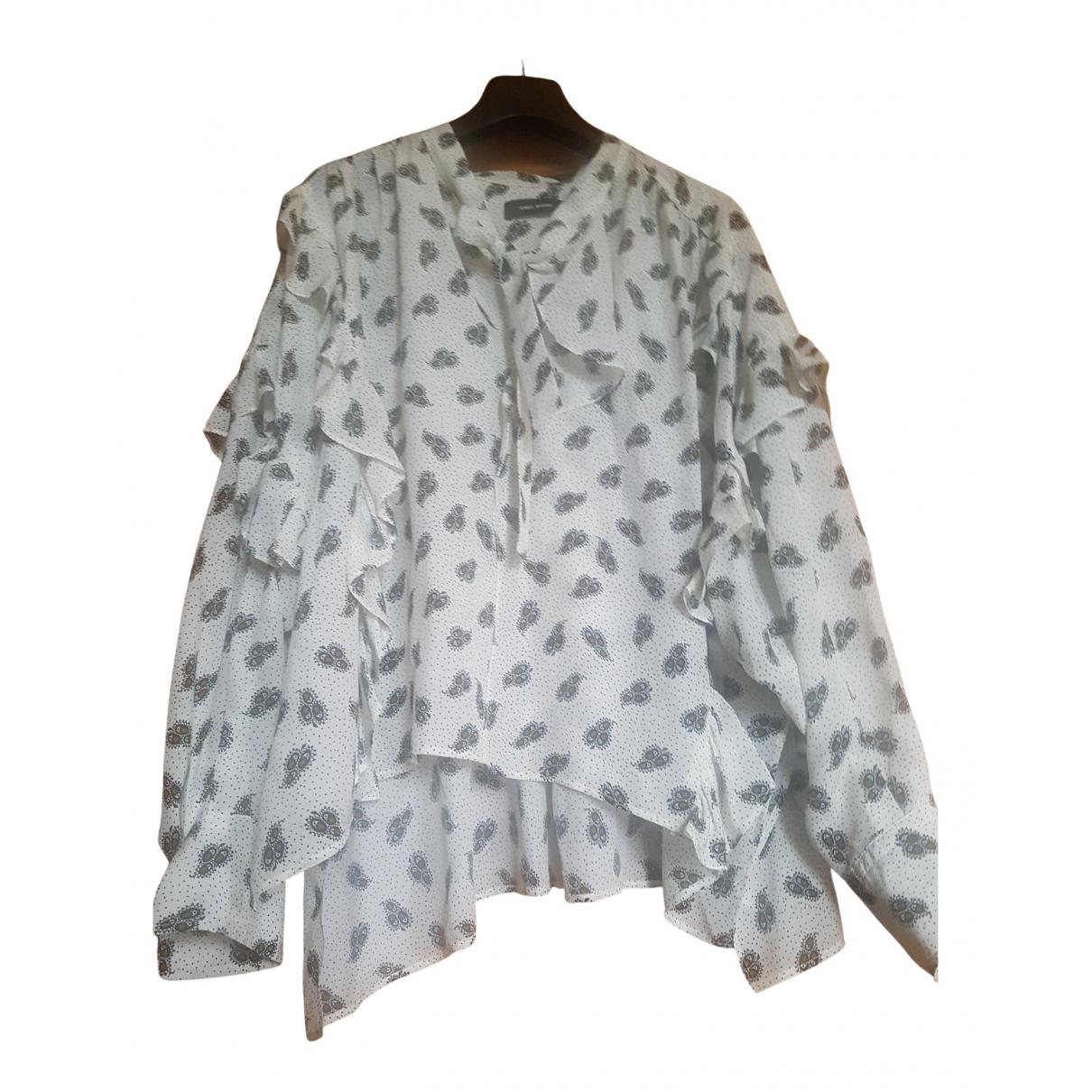 Isabel Marant N White Silk  top for Women 36 FR