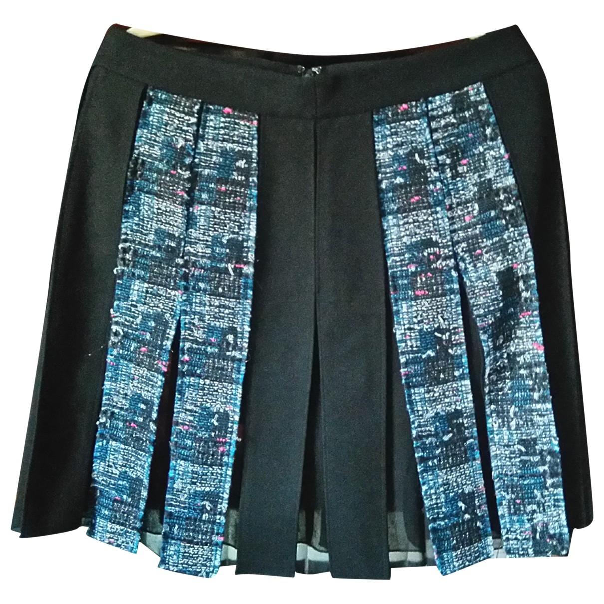 Diane Von Furstenberg - Jupe   pour femme en laine - noir