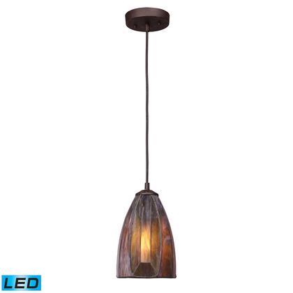 70046-1-LED Dimensions 1-Light Pendant in Burnished Copper -