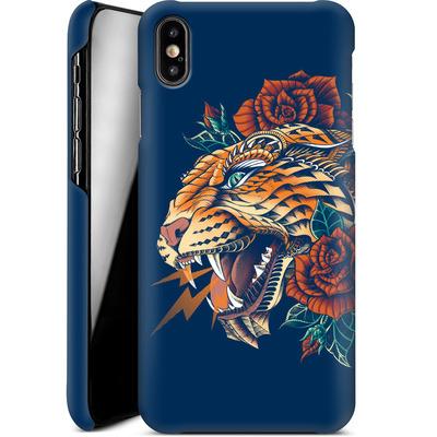Apple iPhone XS Max Smartphone Huelle - Ornate Leopard von BIOWORKZ