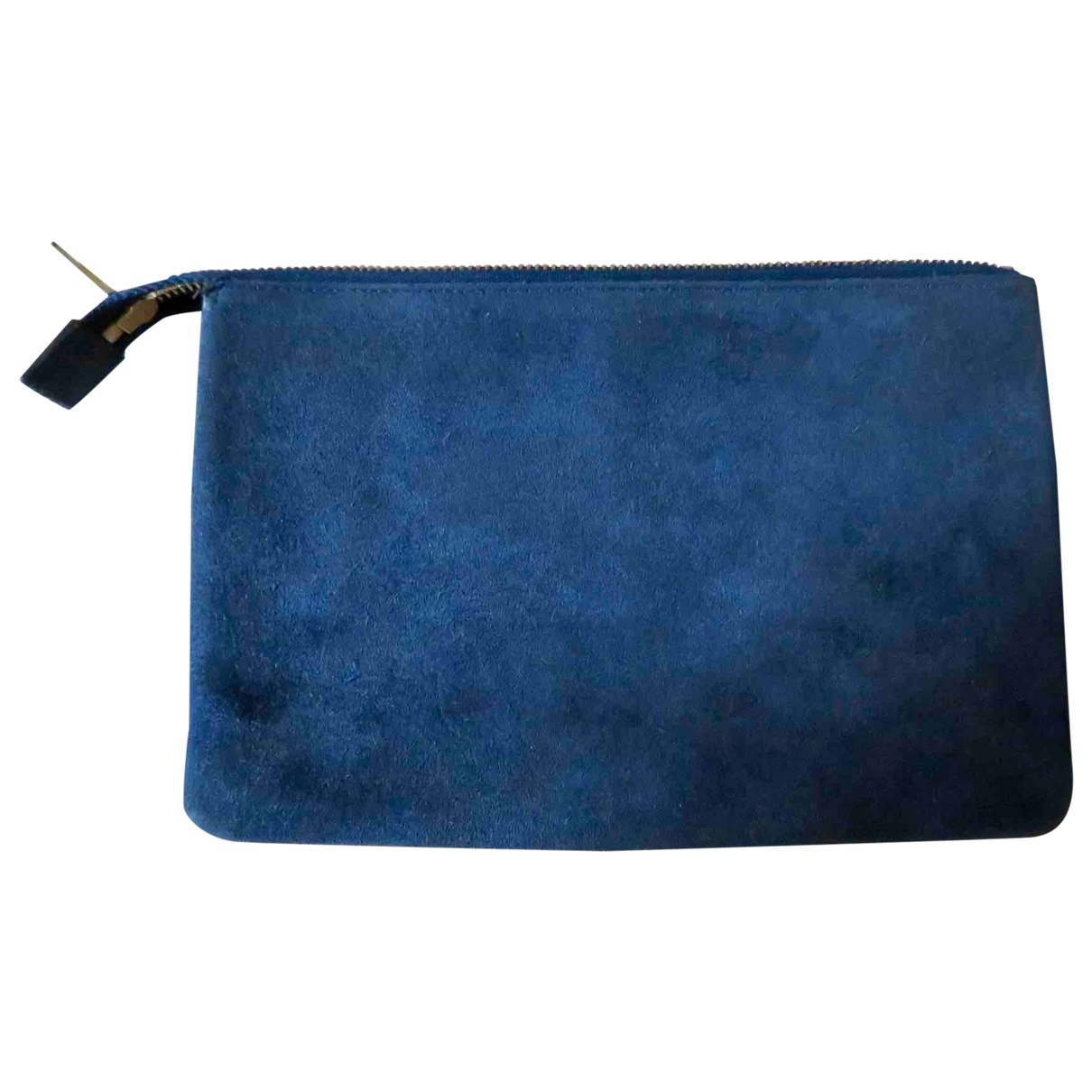 Bolsos clutch en Ante Azul Celine
