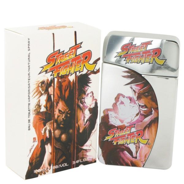 Capcom - Street Fighter : Eau de Toilette Spray 3.4 Oz / 100 ml