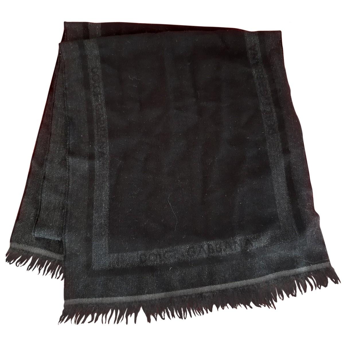 Dolce & Gabbana \N Tuecher, Schal in  Schwarz Wolle