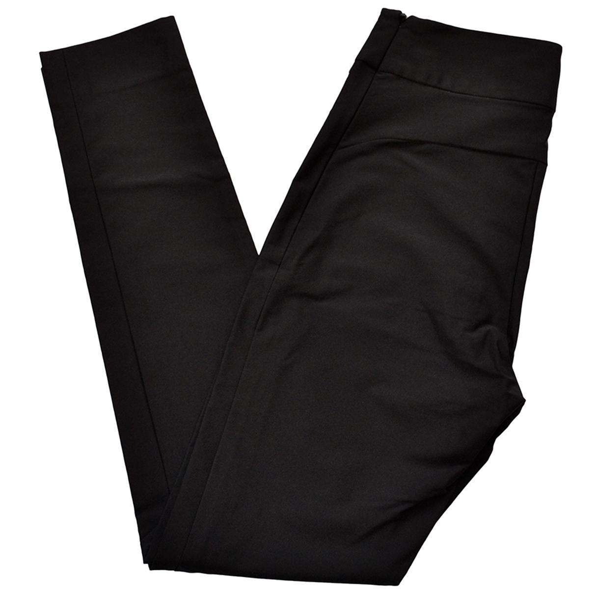 Celine \N Black Trousers for Women 38 FR