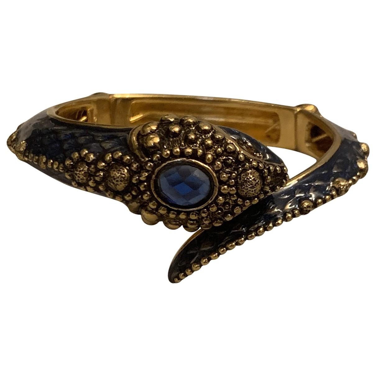 Roberto Cavalli \N Blue Metal bracelet for Women \N