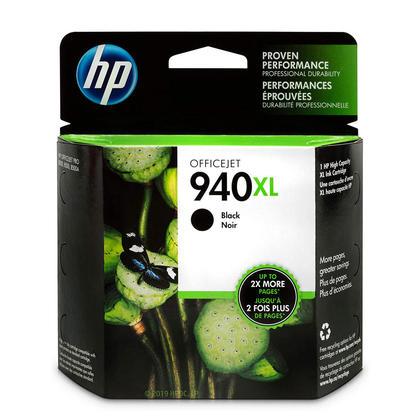 HP 940XL C4906AN cartouche d'encre originale noire haute capacite