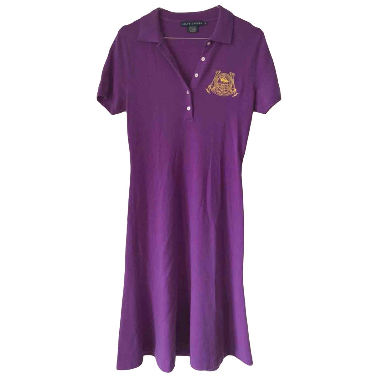 Ralph Lauren - Robe   pour femme en cachemire - violet