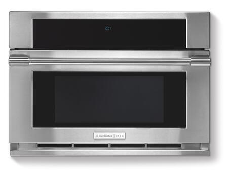 Professional E30MO75HPS 30 Built-In Drop-Down Door Microwave Oven with 1.5 cu ft  900 Watts  Sensor and Convection Cooking  Wave-Touch Electronic