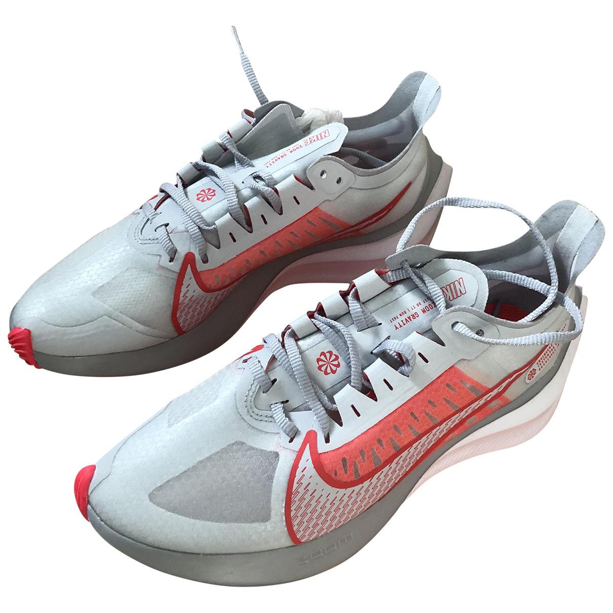 Nike Zoom White Trainers for Women 38.5 EU