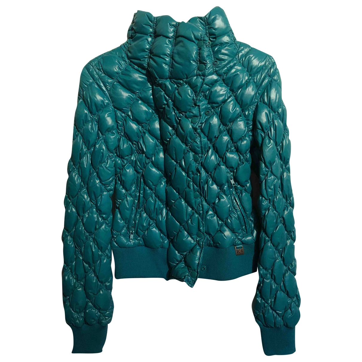 Iceberg \N Turquoise jacket for Women 44 IT