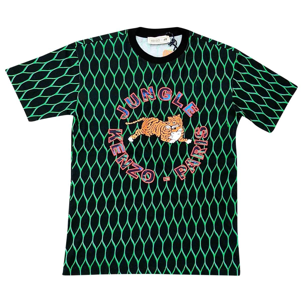 Kenzo X H&m - Tee shirts   pour homme en coton - vert