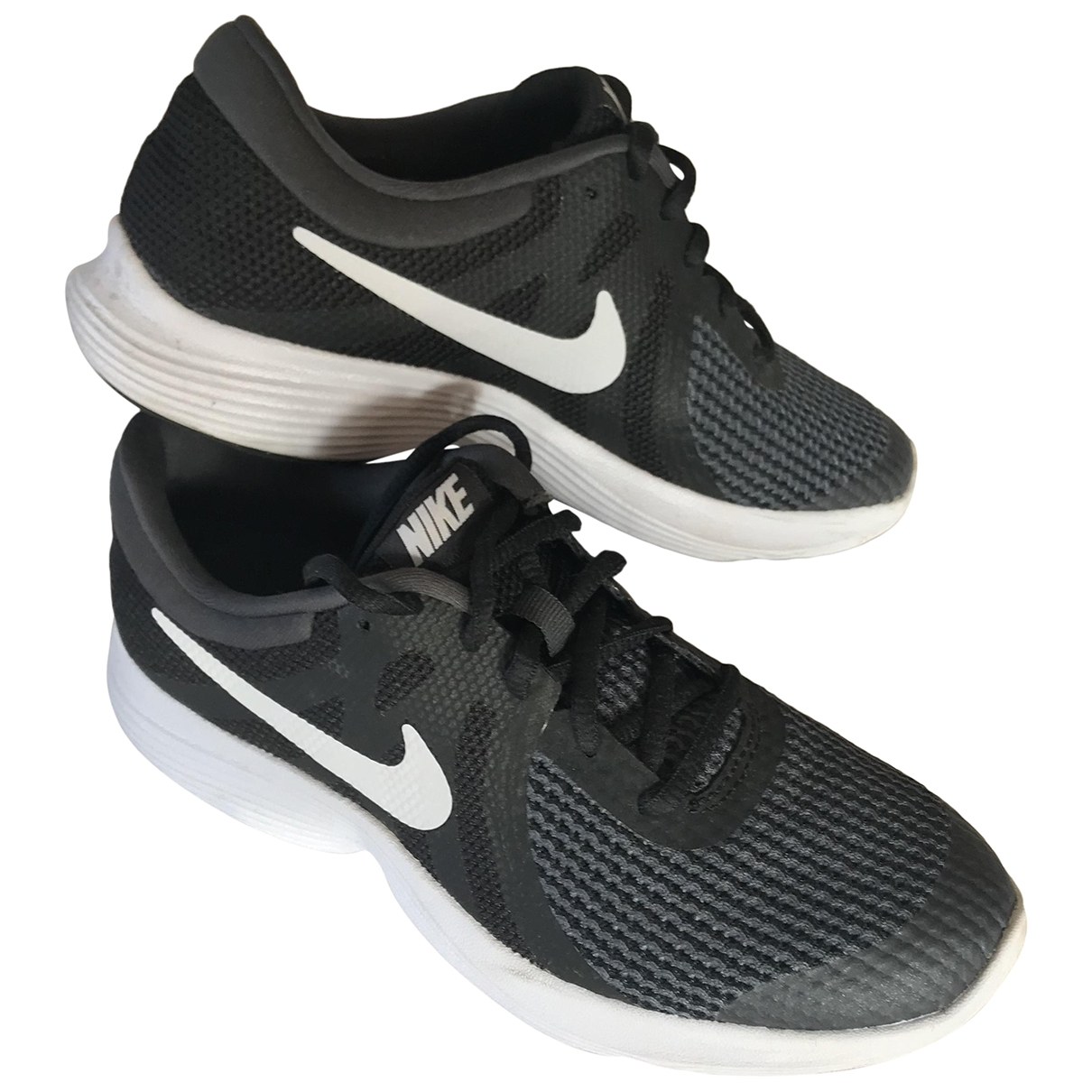 Nike \N Anthracite Trainers for Women 38.5 EU