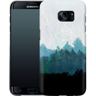 Samsung Galaxy S7 Edge Smartphone Huelle - Woods Abstract von Mareike Bohmer