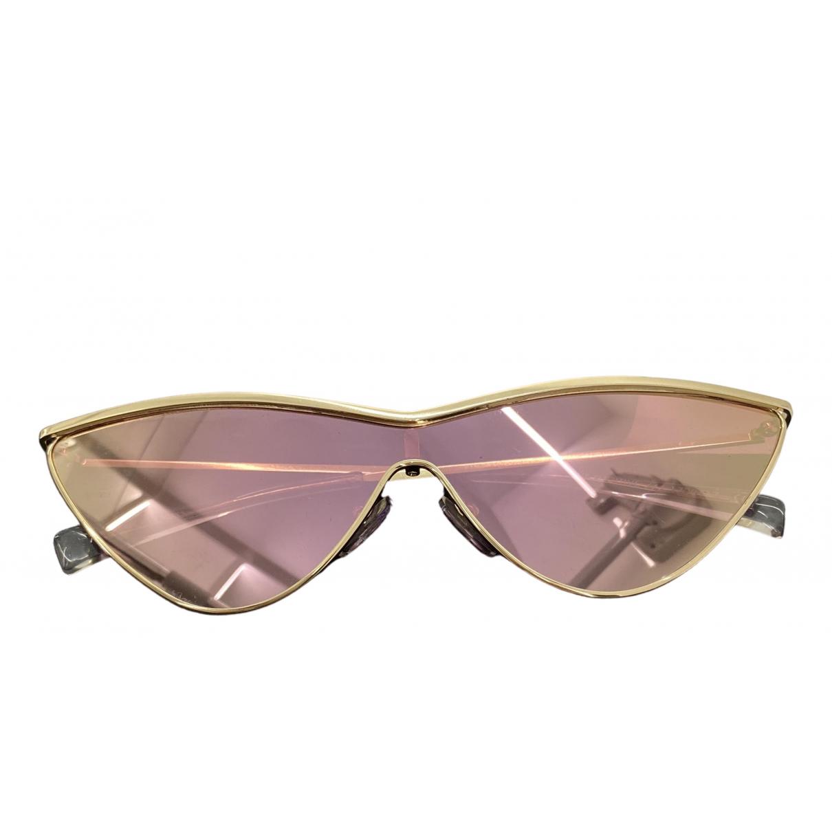 Le Specs - Lunettes   pour femme en metal - rose