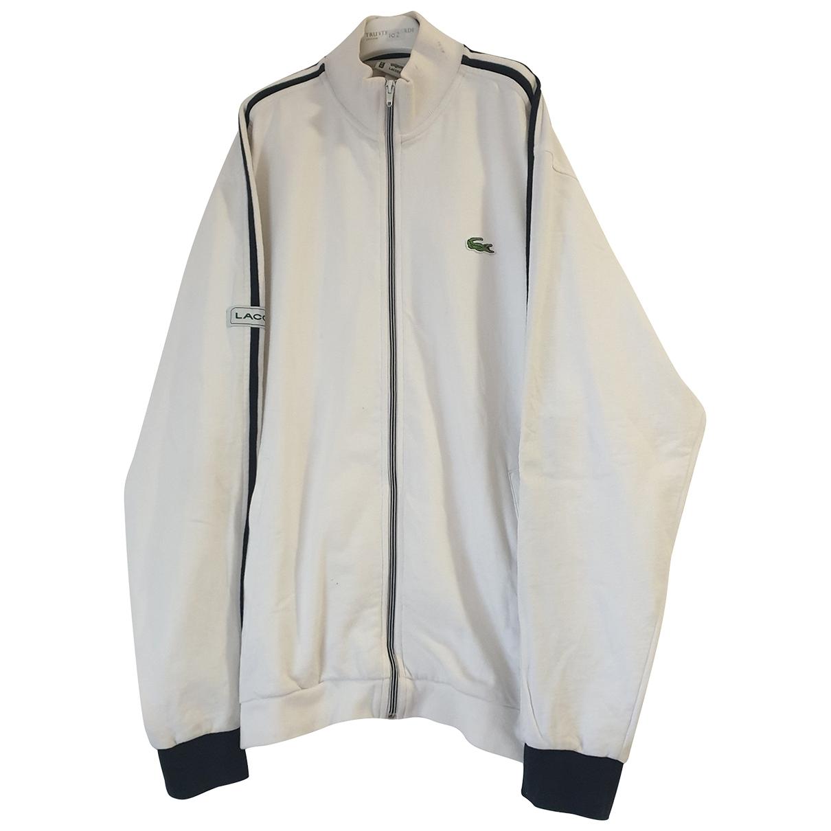 Lacoste \N White Cotton Knitwear & Sweatshirts for Men M International