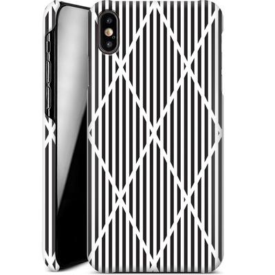 Apple iPhone XS Max Smartphone Huelle - Black Diamonds von caseable Designs