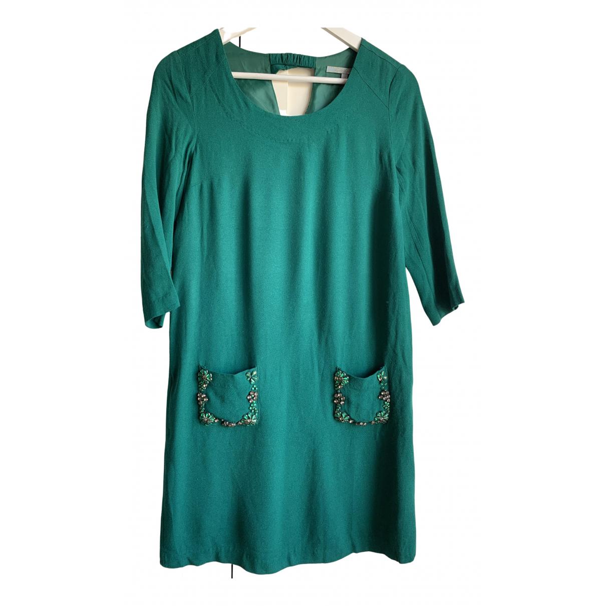 Silvian Heach \N Kleid in  Gruen Viskose