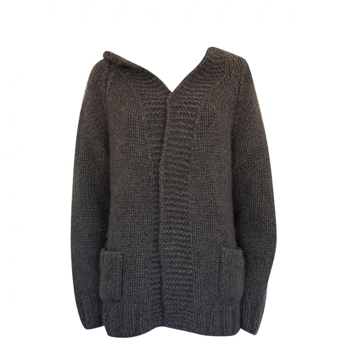 Non Signe / Unsigned \N Pullover.Westen.Sweatshirts  in  Grau Kaschmir