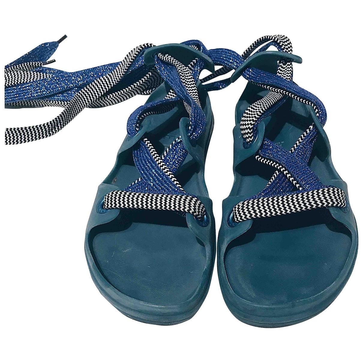 Acne Studios - Sandales   pour femme - bleu