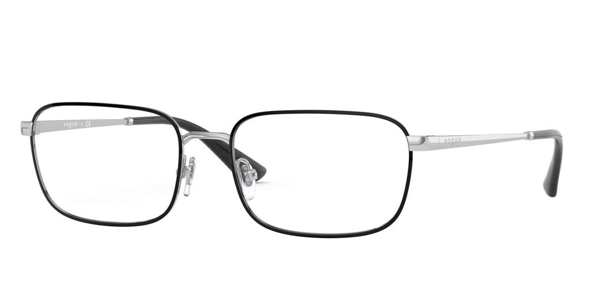 Vogue Eyewear VO4191 323 Women's Glasses Black Size 50 - Free Lenses - HSA/FSA Insurance - Blue Light Block Available