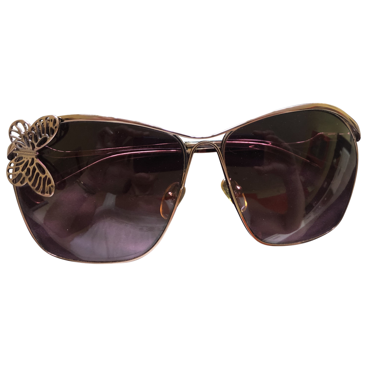 Stella Mccartney \N Metallic Metal Sunglasses for Women \N