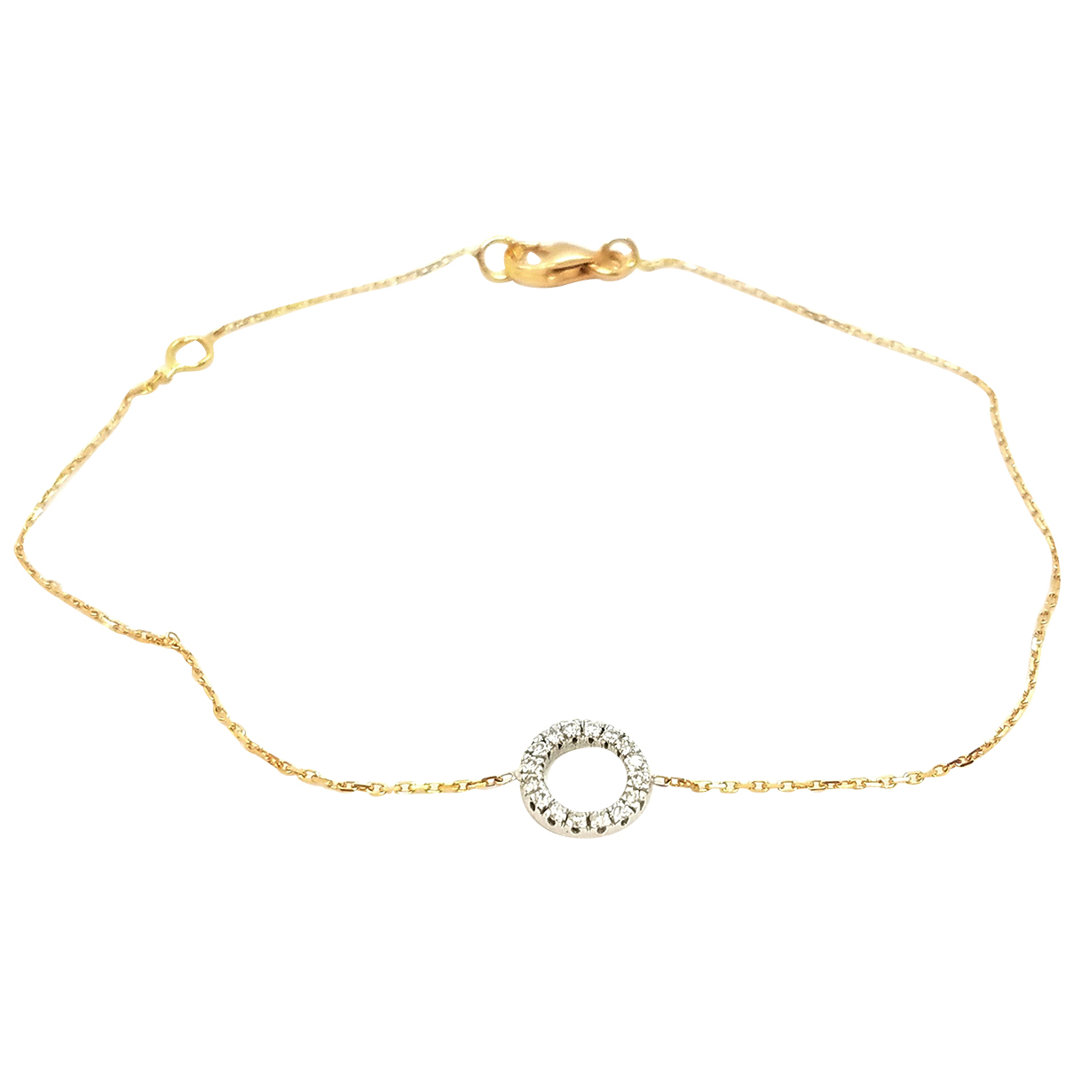 Autre Marque \N Armband in  Gold Weissgold