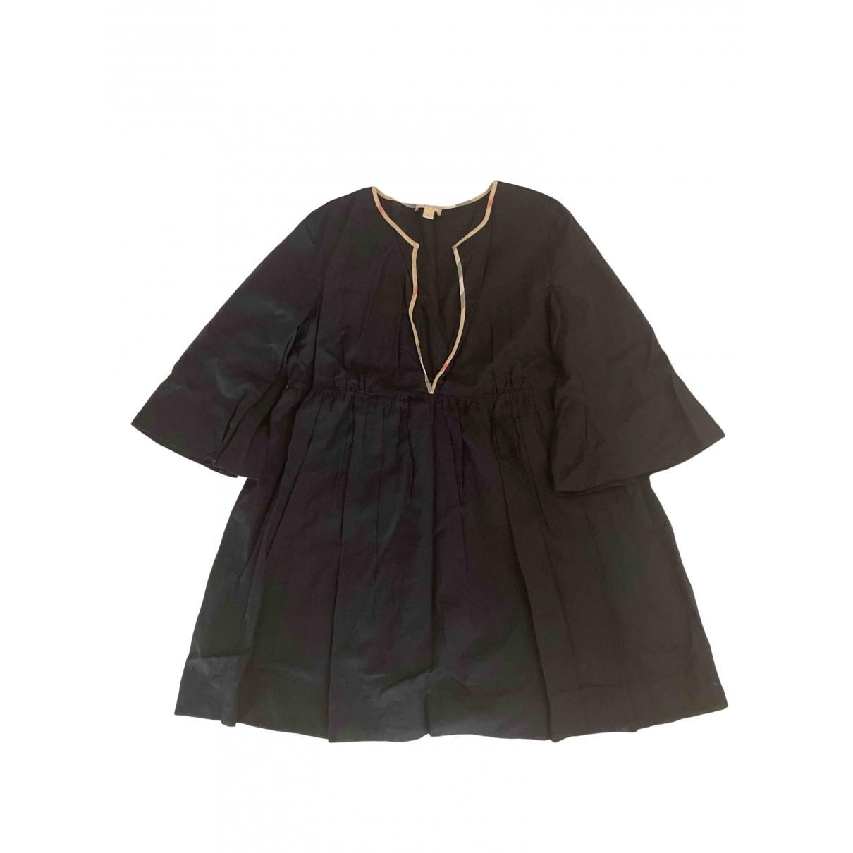 Burberry \N Black Cotton dress for Women S International