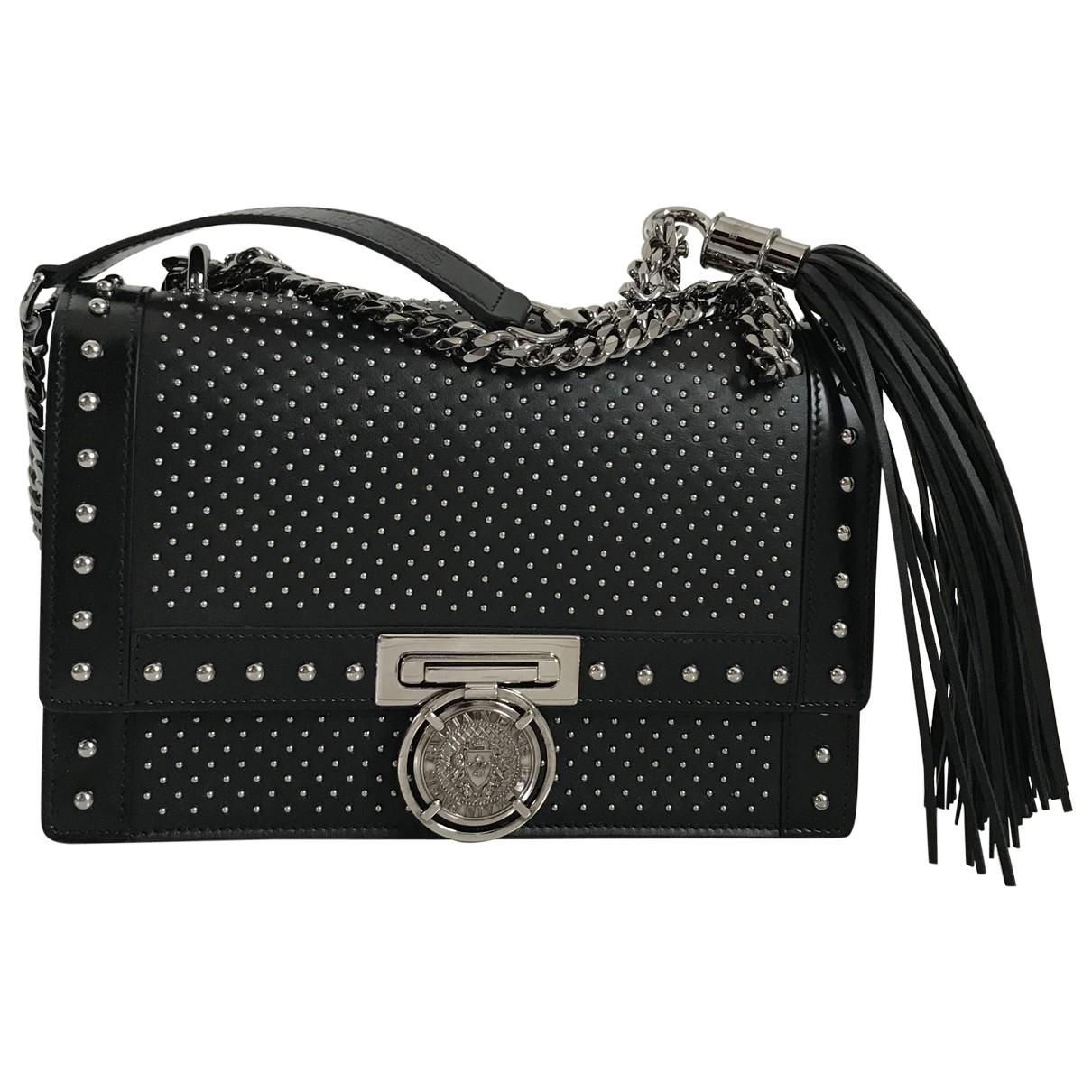 Balmain BBuzz Black Leather handbag for Women \N