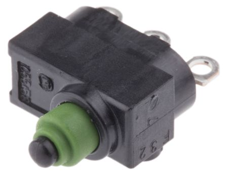 Marquardt SPDT Pin Plunger Microswitch, 4 A @ 12 V dc