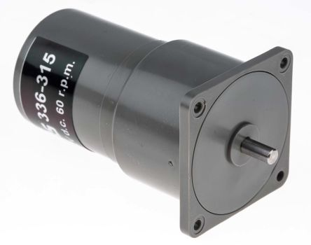 Philips , 12 V dc, 125 mNm, Brushed DC Geared Motor, Output Speed 60 rpm
