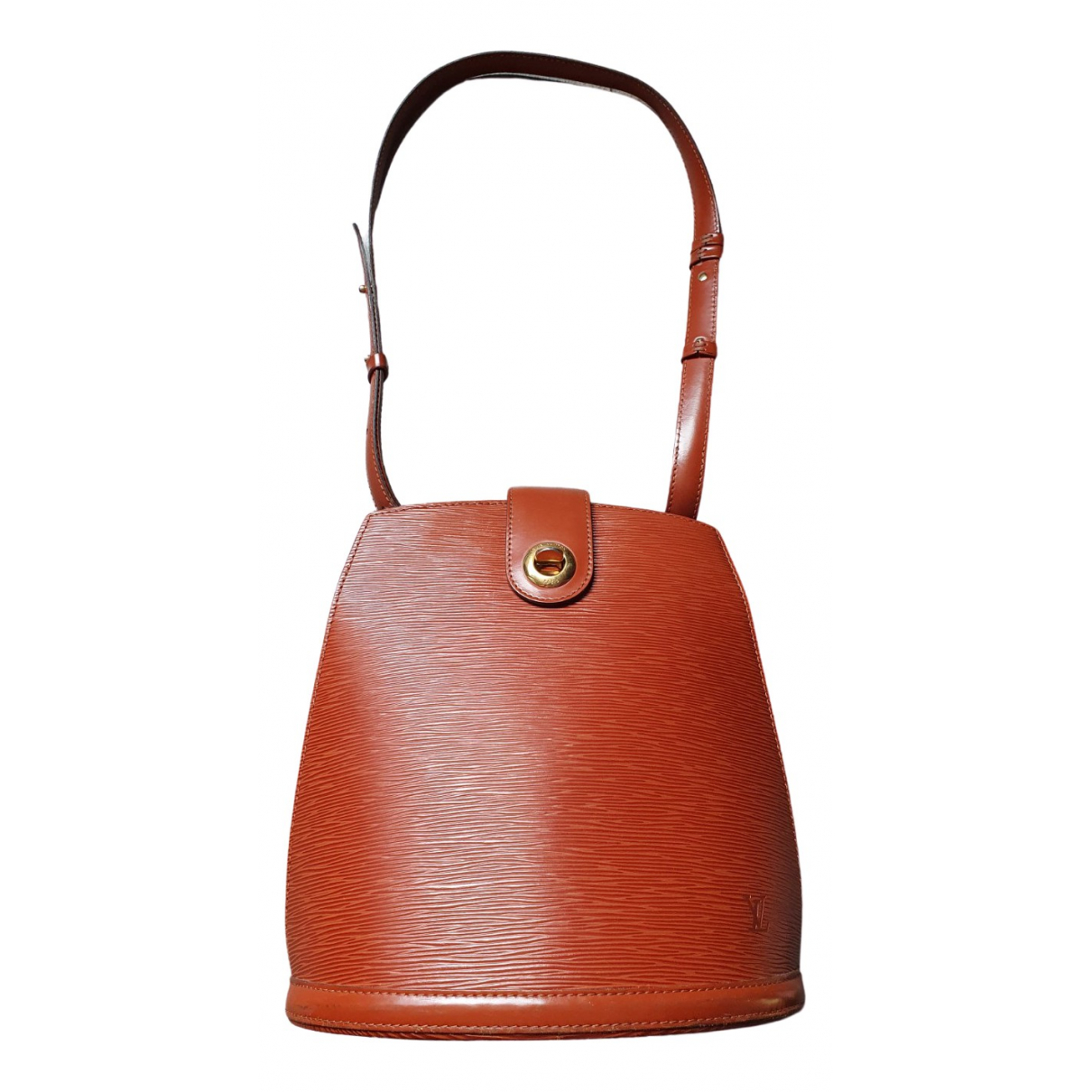 Louis Vuitton Cluny Vintage Brown Leather handbag for Women \N