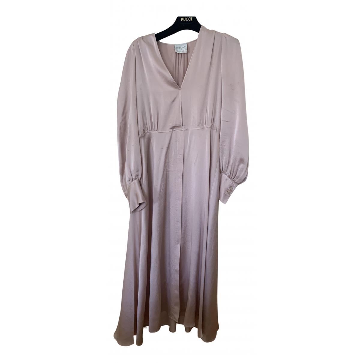 Maxi vestido de Seda Forte_forte