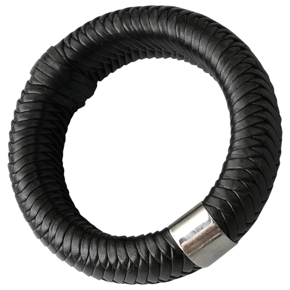 Dior - Bracelet   pour femme en acier - noir