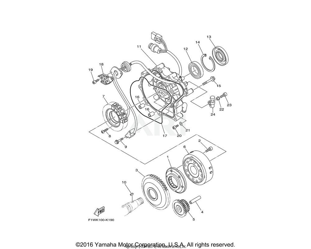 Yamaha OEM 6S5-81168-00-00 O-RING