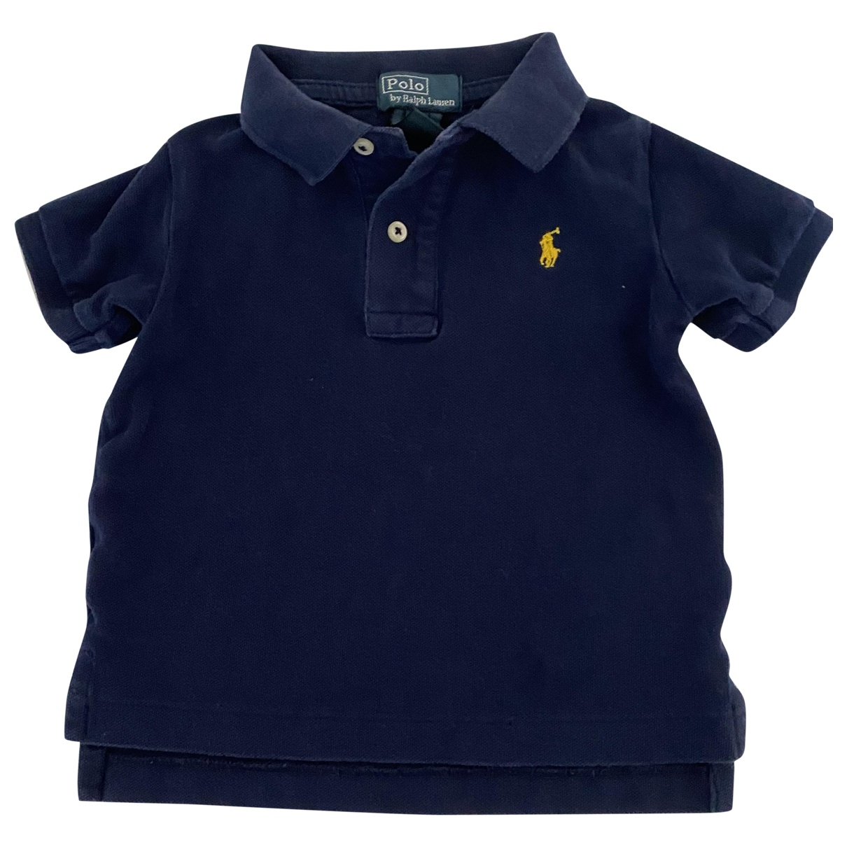 Polo Ralph Lauren \N Blue Cotton  top for Kids 18 months - until 32 inches UK