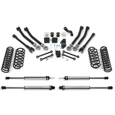 Fabtech 5 Inch Short Arm Lift Kit with Dirt Logic SS Shocks - K4038DL