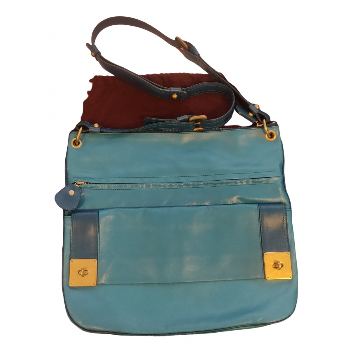 Mulberry \N Blue Leather handbag for Women \N