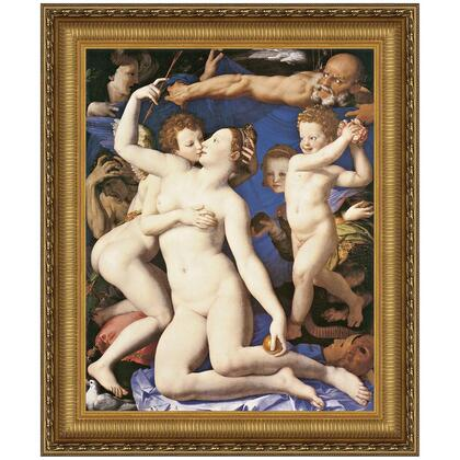 DA1693 34.5X41 An Allegory With Venus And