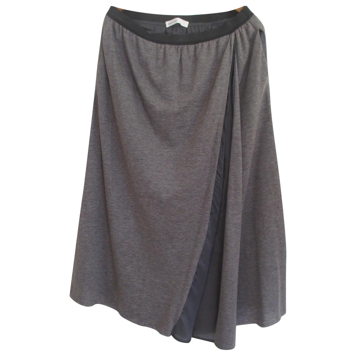Falda midi de Lana Sacai Luck