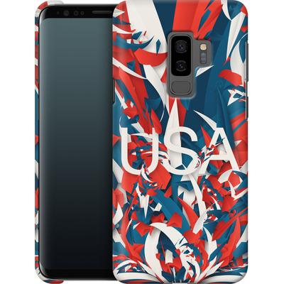 Samsung Galaxy S9 Plus Smartphone Huelle - Colorful USA von Danny Ivan