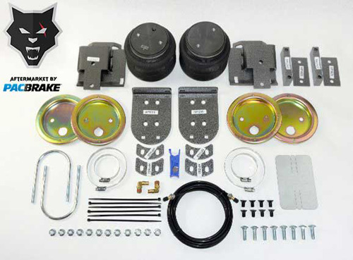 Pacbrake HP10337 Heavy Duty Rear Air Suspension Kit For 19-20 RAM 1500 2WD