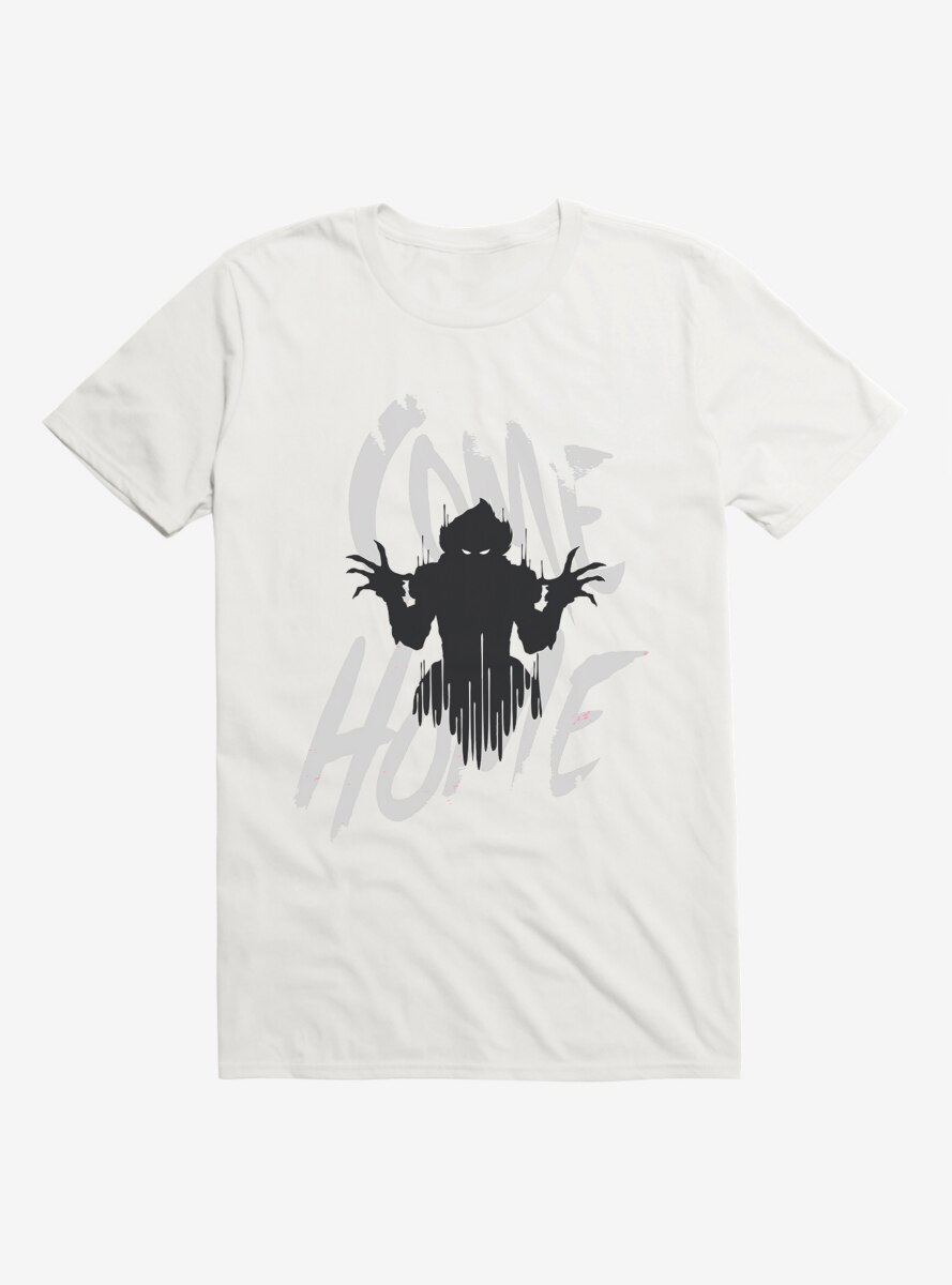 IT Chapter Two Pennywise Shadow Come Home Gray Script T-Shirt