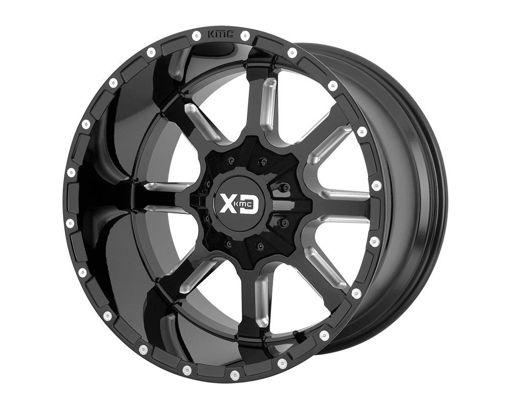 XD Series XD83829067318 XD838 Mammoth Wheel 20x9 6x6x135/6x139.7 +18mm Gloss Black Milled