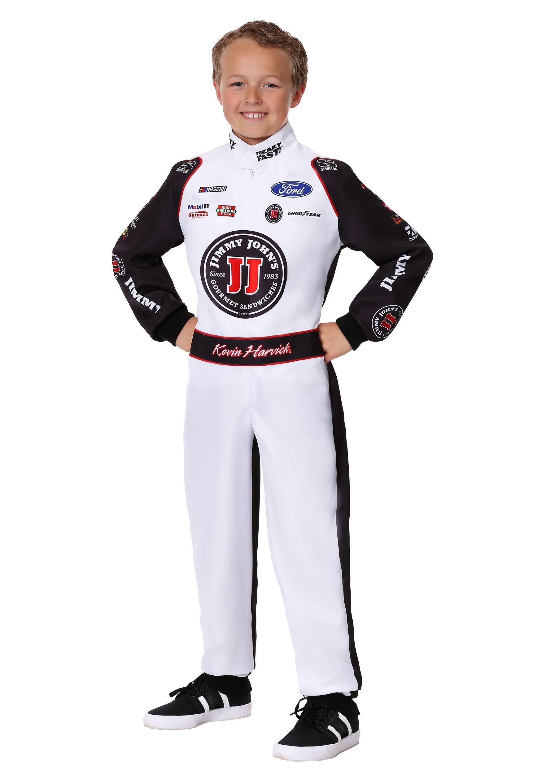 #4 Kevin Harvick(R) Jimmy John's Uniform Child Costume