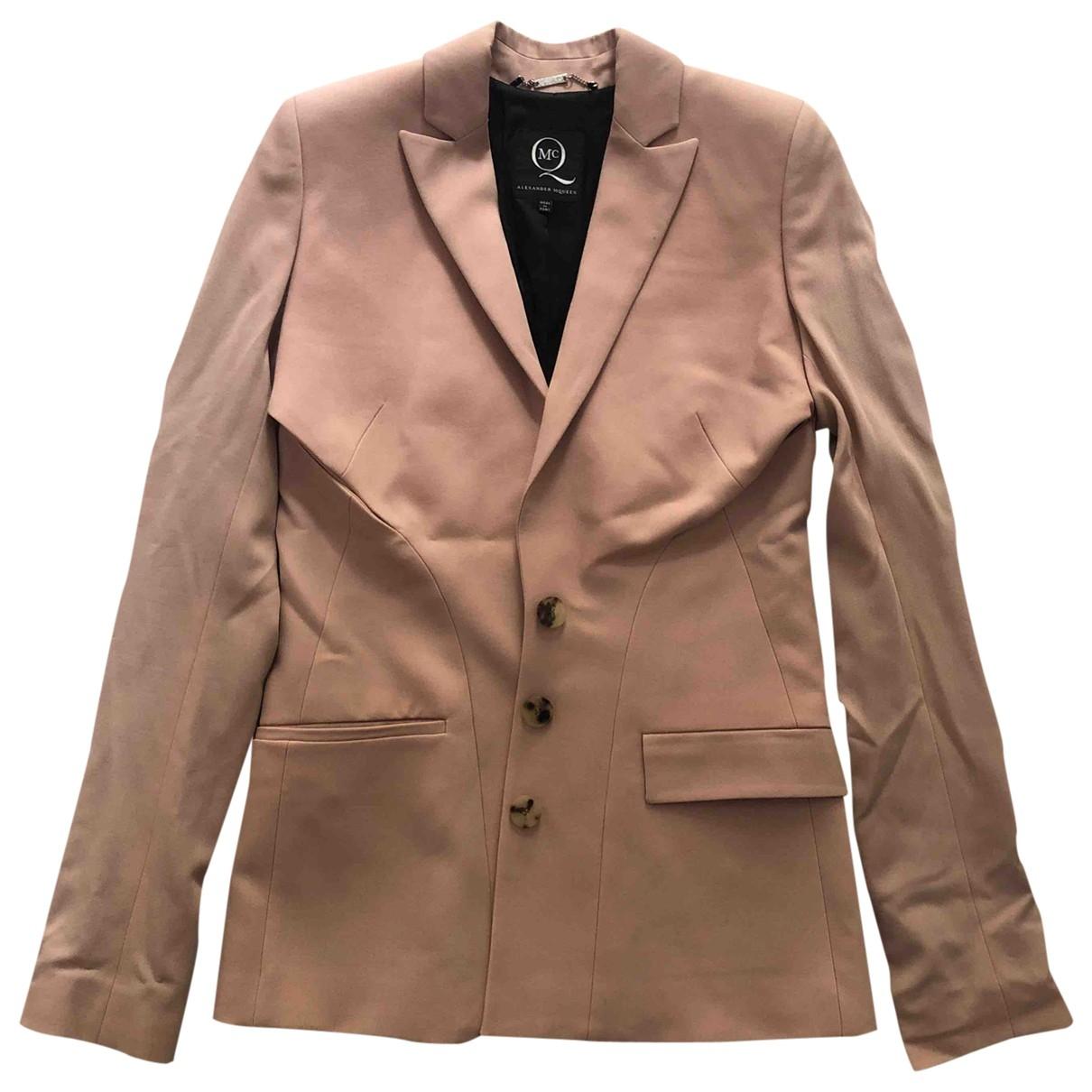 Mcq - Veste   pour femme en laine - rose